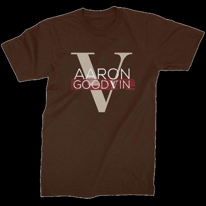 Aaron Goodvin Unisex Brown Crew Neck Tee